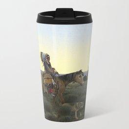 Buffalo Hunter Metal Travel Mug