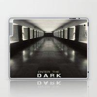 Enter the dark Laptop & iPad Skin