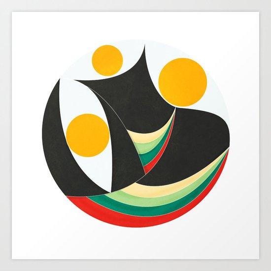 The Three Wizzards Art Print