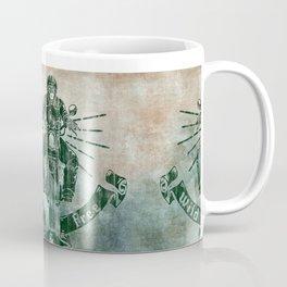 Wild and Free Motorbike Rider Coffee Mug