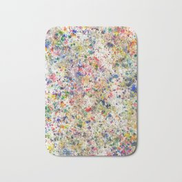 Abstract Artwork Colourful #7 Bath Mat