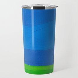 Big Bright Blue Sky Travel Mug