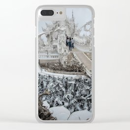 The White Temple - Thailand - 002 Clear iPhone Case
