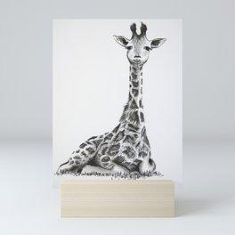 Mtoto Twiga Mini Art Print