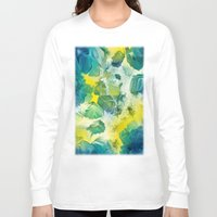 mineral Long Sleeve T-shirts featuring Mineral Series - Andradite by ShannonPosedenti