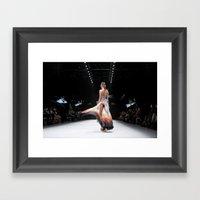 Back Down the Runway Framed Art Print