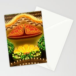 Colorful decorations Stationery Cards