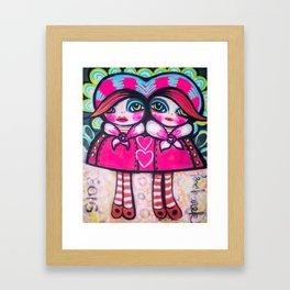 Conjoined Gretchens  Framed Art Print