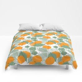 Oranges Comforters