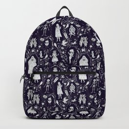 Creatures of the Night (purple) Backpack