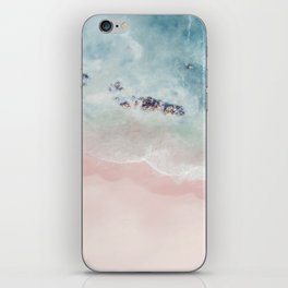 Ocean Pink Blush iPhone Skin