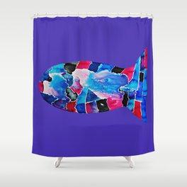 Fish IV Shower Curtain