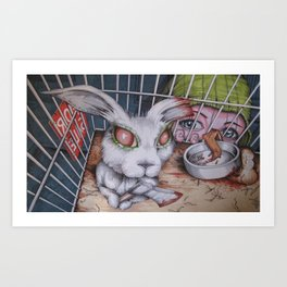 i want this one . Art Print
