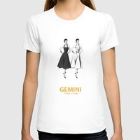 gemini T-shirts featuring Gemini by Cansu Girgin