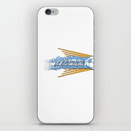 Argentina La Albiceleste(The White and Sky-Blue) ~Group D~ iPhone Skin