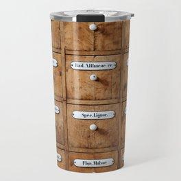 Pharmacy storage Travel Mug