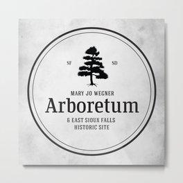 Mary Jo Wegner Arboretum Metal Print