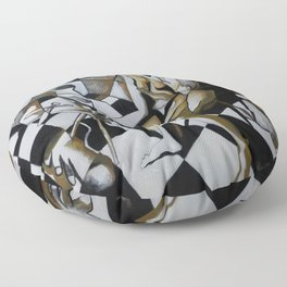 No Need for Violets Floor Pillow