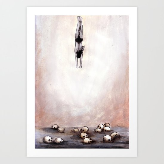 For The Most Of Your Life You Have Accomplished Nothing Art Print