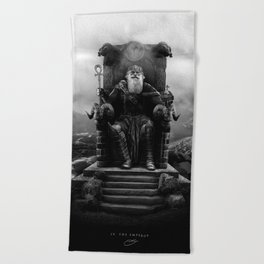 IV. The Emperor (Version II) Beach Towel