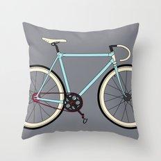 Classic Road Bike Throw Pillow