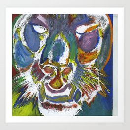 Panther of Glory Art Print