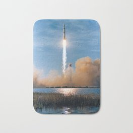 Apollo 8 - Saturn V Liftoff! Bath Mat