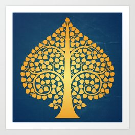 Bodhi Tree0206 Art Print