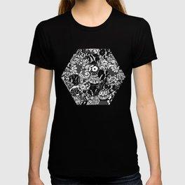 gothic lace T-shirt