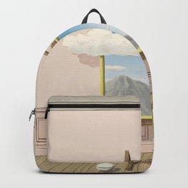 Rene Magritte La Vengeance  Backpack