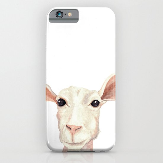 Watercolor Billy Goat iPhone & iPod Case