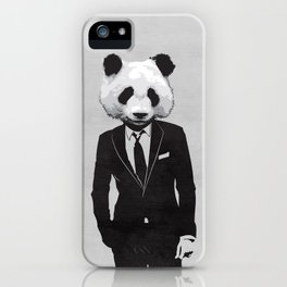 Panda Suit iPhone Case