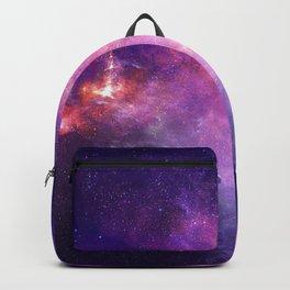 Purple space Backpack