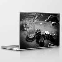 poker Laptop & iPad Skins featuring Poker Time by Eduard Leasa Photography