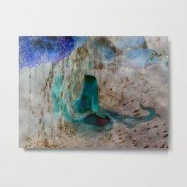 Mermaid: Back Metal Print