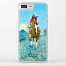 The Outlier by Frederic Sackrider Remington Clear iPhone Case