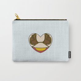 Slave Leia Character Heart Carry-All Pouch