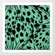 Butterfly Blend #2 Art Print