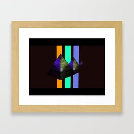 Forgoten Pyramids Framed Art Print