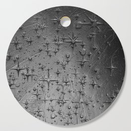 Black Clay Star Etching Texture Cutting Board