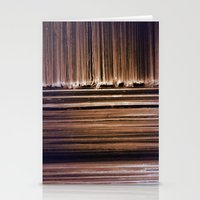 records Stationery Cards featuring Records by Perpetual Change