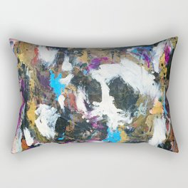 Ghost in the Mirror Rectangular Pillow