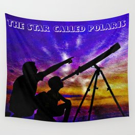 The Star Called Polaris Wall Tapestry