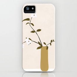 Flowers in the Vase iPhone Case