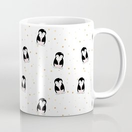 little penguin pattern Coffee Mug