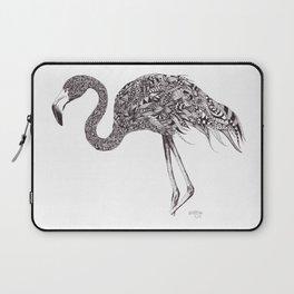 Zentangle Flamingo Laptop Sleeve