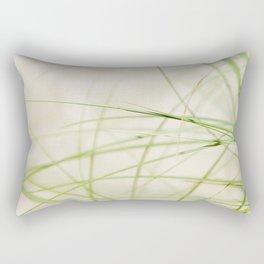 Green Wisps Rectangular Pillow