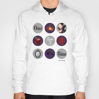 regina mills Hoodies featuring Once Upon A Time, Regina Mills by Your Friend Elle