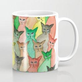 Toledo Many Whimsical Cats Coffee Mug