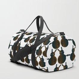 Robot Ball Bunny Duffle Bag